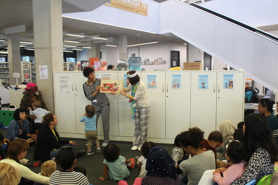 story session for under 5s in library