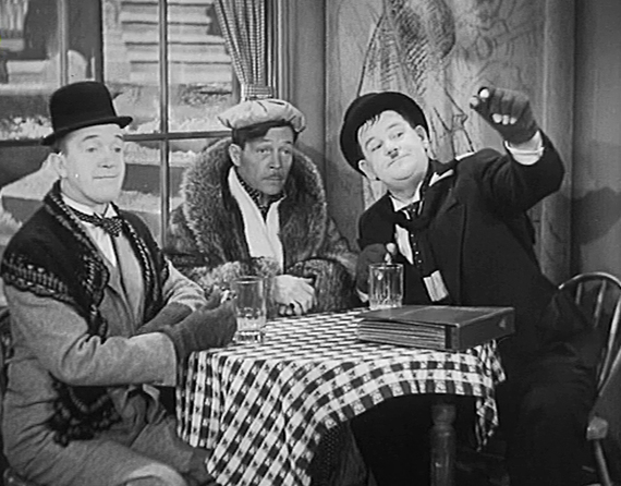 Laurel and Hardy cafe