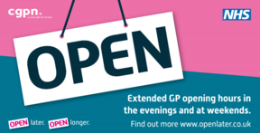 cgpn extended GP hours poster