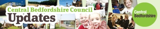 Central Bedfordshire Council Updates Banner