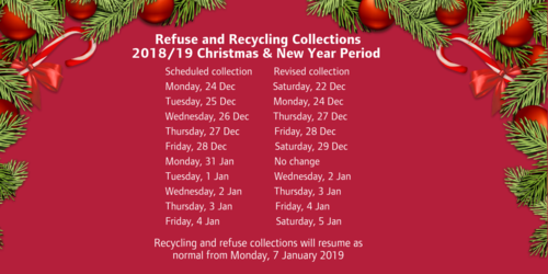 Christmas 2018 recycling