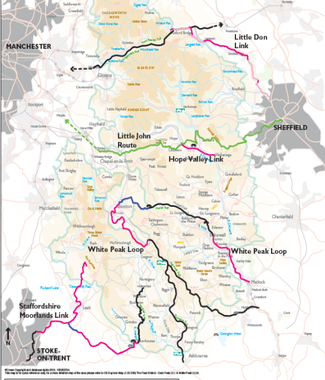Peak Cycling Routes