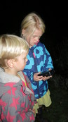 kids and bat detector