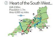 Map of Devon