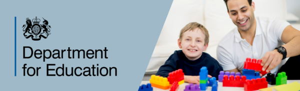 DfE email banner 1