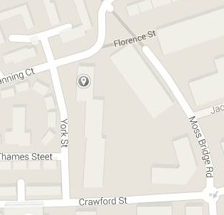 Map of new site for Rochdale Test Centre