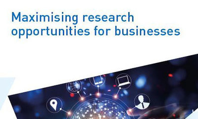 Maximising research opps for business cover