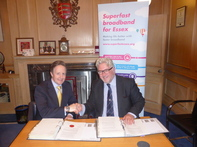 ECC & BT signing Phase 2 contract