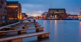 Gloucester docks (winter)