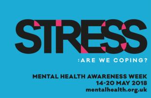 Stress - mental health campaign