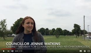 Jennie Watkins cllr video June