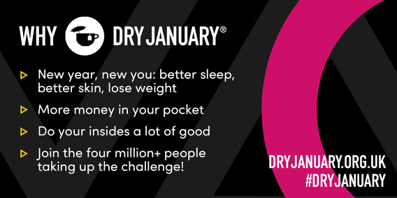 Dry Jan banner