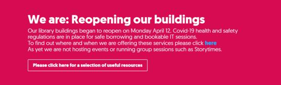 Reopenings our buildings
