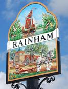 Rainham village sign