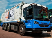 Serco waste collection lorry