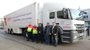 Tesco HGV training