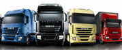 Four lorries HGV