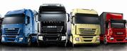 Four lorries HGV