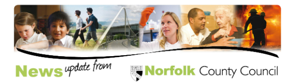 News update from Norfolk County Council
