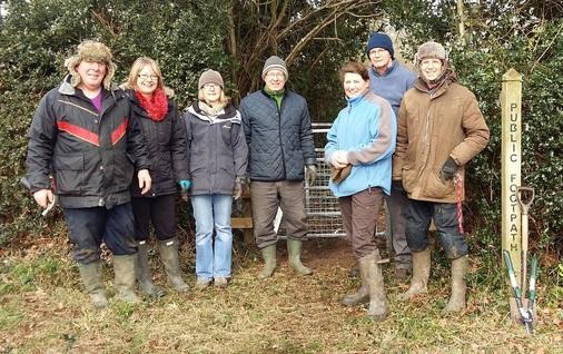 Farlow Footpath P3 Group