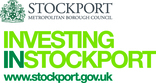Investing in Stockport logo