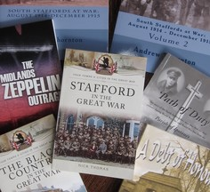 Selection of new titles at William Salt Library