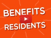 Benefits for residents youtube video