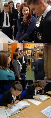 Wolgarston School visit