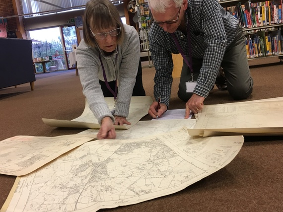 Exploring Staffordshire's past with the Library Service