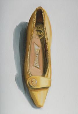 Career Girl Shoe, Lisa Milroy 2002
