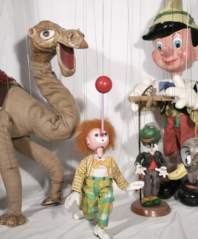 Puppets from the County Museum Collection