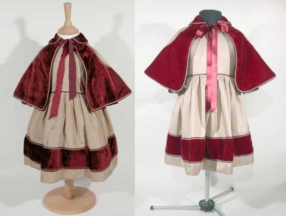 Child's Dress 19th century and reproduction 2018.