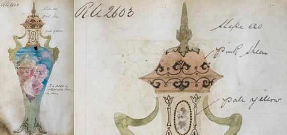 Royal Doulton Pattern Book, c. 1898