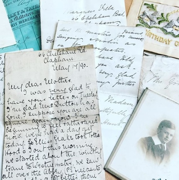 Letters from the coal shed