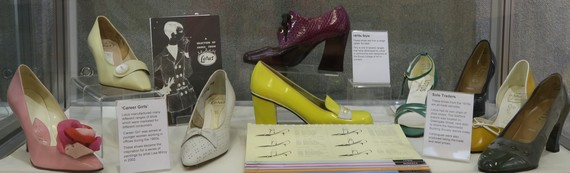 Shoes manufactured by Lotus, 1960s and 1970s