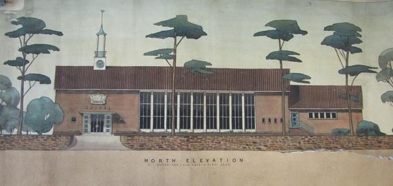 North Elevation of Codsall Village Hall