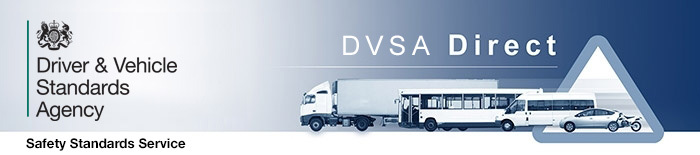 DVSA Direct banner
