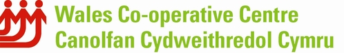 Logo canolfan cyd-weithredol cymru