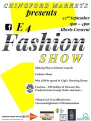 Chingford Fashion Show 220918 poster