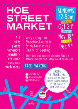 Hoe Street Market poster