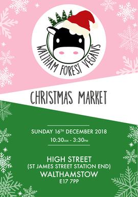 Waltham Forest Vegan Christmas Market  2018