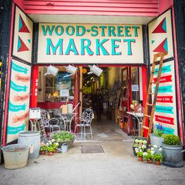 Wood Street Indoor Market entrance