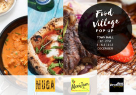 Town Hall pop up food village 2018