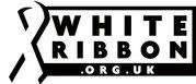 White Ribbon campaign logo