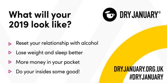 Dry January advert