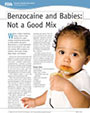 Benzocaine and Babies: Not a Good Mix