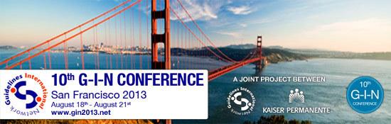 2013 G-I-N Conference
