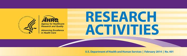 AHRQ Research Activities logo
