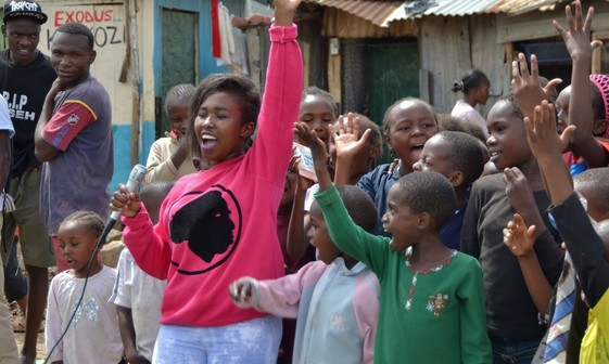 USAID empowers youth to be key partners in global health programming around the world. Photo credit: Chacha Musya