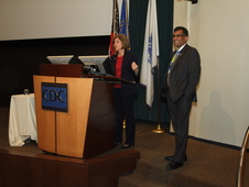 Dr.Khan and Gail McGovern